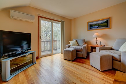Edgartown Martha's Vineyard vacation rental - Second living room to relax around the TV