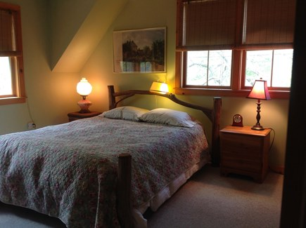 Oak Bluffs, East Chop Martha's Vineyard vacation rental - Upstairs master bedroom with queen size bed and TV