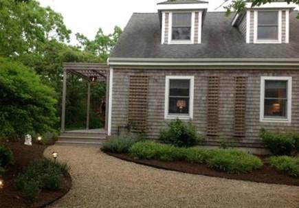 West Tisbury Martha's Vineyard vacation rental - Circular driveway, private