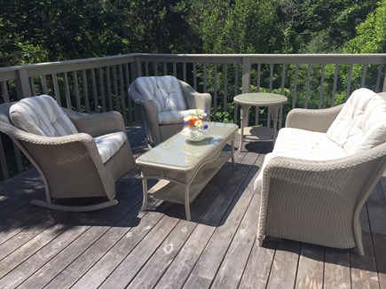 West Tisbury Martha's Vineyard vacation rental - Comfortable outdoor seating