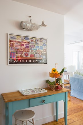 West Tisbury Martha's Vineyard vacation rental - Entry to open kitchen