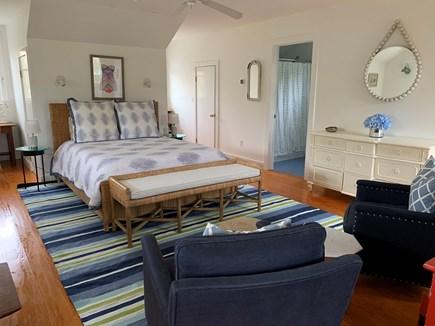 West Tisbury Martha's Vineyard vacation rental - Master Bedroom with outdoor deck