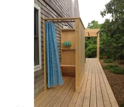 West Tisbury Martha's Vineyard vacation rental - Outdoor shower