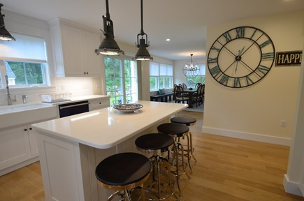 Vineyard Haven, Tisbury Martha's Vineyard vacation rental - Chef's dream with ample quartz countertop space