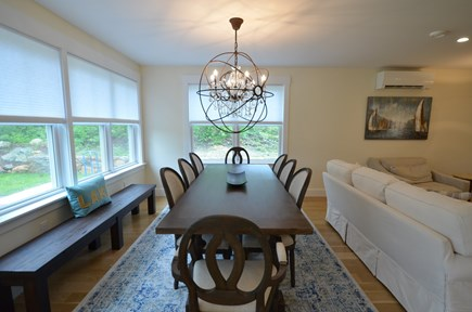 Vineyard Haven, Tisbury Martha's Vineyard vacation rental - Luminous room and elegant dining table