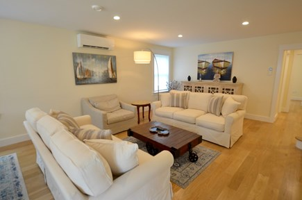 Vineyard Haven, Tisbury Martha's Vineyard vacation rental - Bright, modern living room features comfortable seating