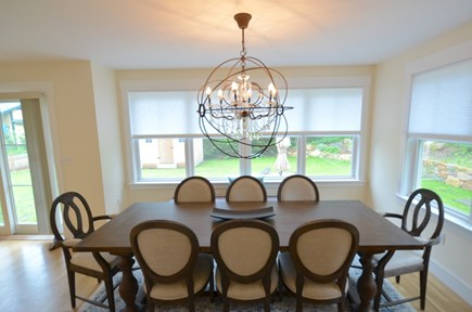 Vineyard Haven, Tisbury Martha's Vineyard vacation rental - Spacious dining table for eight
