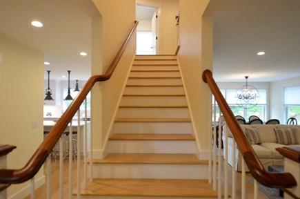 Vineyard Haven, Tisbury Martha's Vineyard vacation rental - Grand staircase