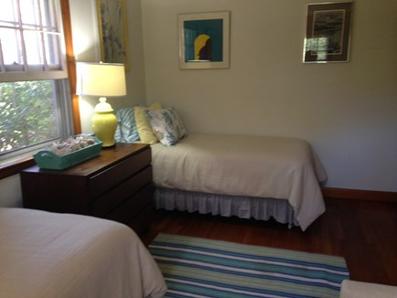 Oak Bluffs Martha's Vineyard vacation rental - 2nd Bedroom with 2 Twin Beds