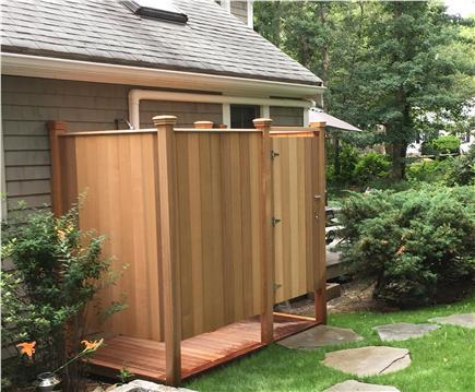 Vineyard Haven Martha's Vineyard vacation rental - Outdoor shower