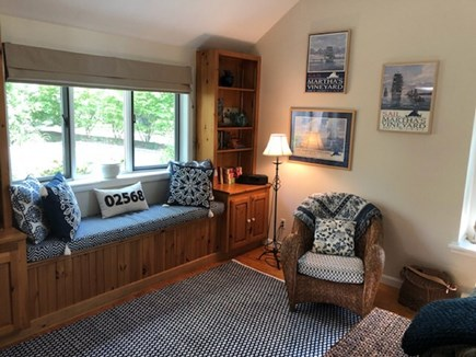 Vineyard Haven Martha's Vineyard vacation rental - Window seat