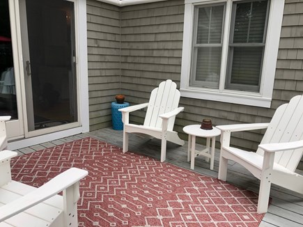 Vineyard Haven Martha's Vineyard vacation rental - New deck furniture