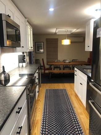 Vineyard Haven Martha's Vineyard vacation rental - View of updated breakfast nook from new kitchen
