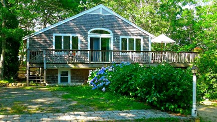 Oak Bluffs, Vineyard Haven Martha's Vineyard vacation rental - Front entrance of the house