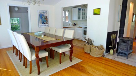 Oak Bluffs, Vineyard Haven Martha's Vineyard vacation rental - Dining room and kitchen