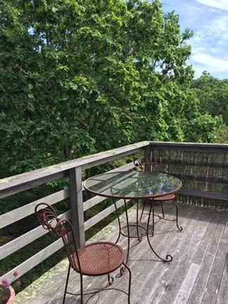 West Tisbury Martha's Vineyard vacation rental - Enjoy your morning coffee here!