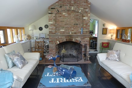 Vineyard Haven Martha's Vineyard vacation rental - Cozy living room for family gatherings