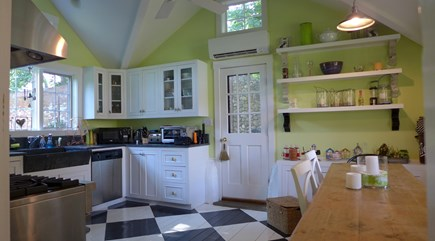 Vineyard Haven Martha's Vineyard vacation rental - County Kitchen with farmer soap stone sink
