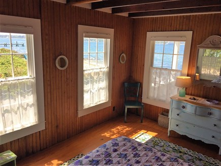 Oak Bluffs &Vineyard Haven Martha's Vineyard vacation rental - 1st floor bedroom with water views