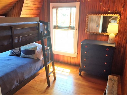 Oak Bluffs &Vineyard Haven Martha's Vineyard vacation rental - 2nd floor bedroom with bunk beds