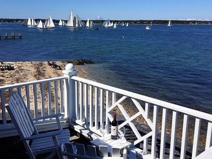 Oak Bluffs &Vineyard Haven Martha's Vineyard vacation rental - 1 of 2 second floor private open porches