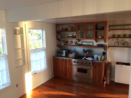 Oak Bluffs &Vineyard Haven Martha's Vineyard vacation rental - Open Kitchen with gas Viking stove