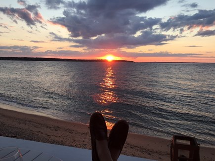 Oak Bluffs &Vineyard Haven Martha's Vineyard vacation rental - Stunning sunsets from the covered porch