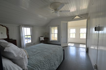 Oak Bluffs Martha's Vineyard vacation rental - Master Bedroom with attached sun porch (2nd floor)