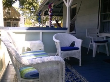 Oak Bluffs Martha's Vineyard vacation rental - Enjoy time on the front porch