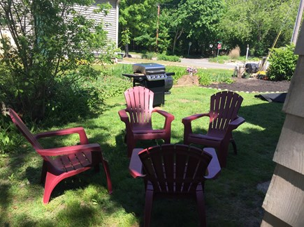 Oak Bluffs Martha's Vineyard vacation rental - Outdoor space with grill and adirondacks