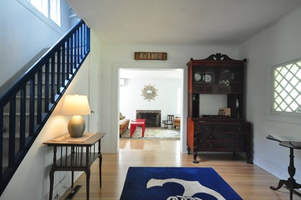 Oak Bluffs Martha's Vineyard vacation rental - Entryway from front door looking into Living room 2