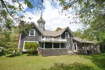 Oak Bluffs Martha's Vineyard vacation rental - Back of house