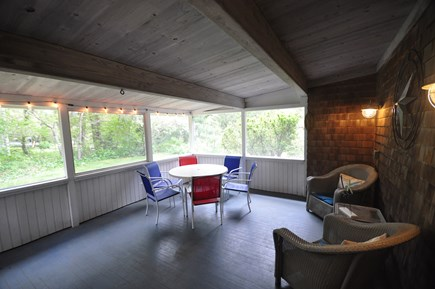 Oak Bluffs Martha's Vineyard vacation rental - Screened in proch