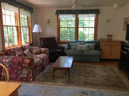 Chappaquiddick Martha's Vineyard vacation rental - Living Room