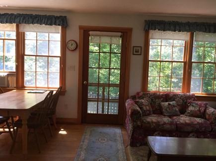 Chappaquiddick Martha's Vineyard vacation rental - Kitchen/Living Room