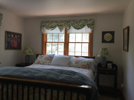 Chappaquiddick Martha's Vineyard vacation rental - Bedroom with king size bed