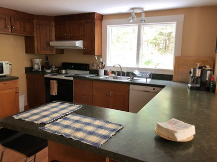 West Tisbury Martha's Vineyard vacation rental - Fully equipped kitchen with pass through to second dining room