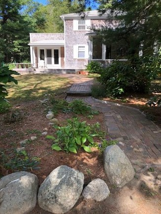 West Tisbury Martha's Vineyard vacation rental - Large landscaped yard
