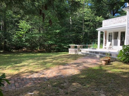 West Tisbury Martha's Vineyard vacation rental - More of the yard  Plenty of off street parking
