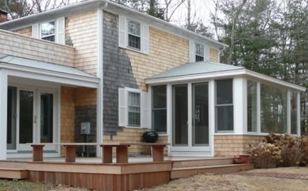 West Tisbury Martha's Vineyard vacation rental - Four Bedrooms with south facing deck