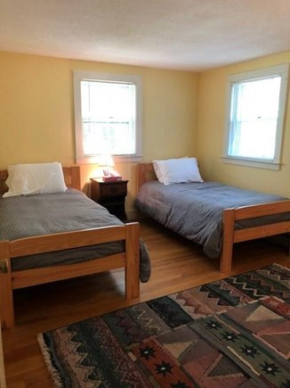 West Tisbury Martha's Vineyard vacation rental - Upstairs pair of twins