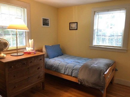 West Tisbury Martha's Vineyard vacation rental - Upstairs with pair of twins, only one shown