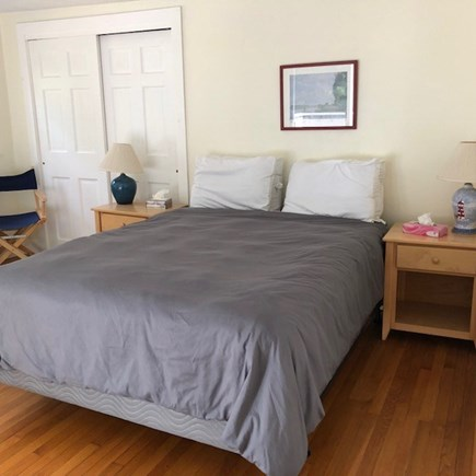 West Tisbury Martha's Vineyard vacation rental - Upstairs queen bed with access to roof deck