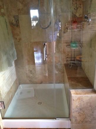 Oak Bluffs, Harthaven Martha's Vineyard vacation rental - Updated master bathroom