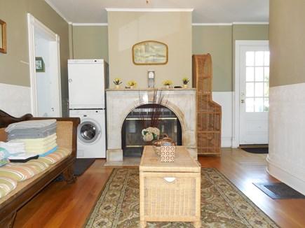 Oak Bluffs Martha's Vineyard vacation rental - Sitting Room with Washer/Dryer