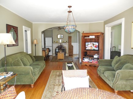 Oak Bluffs Martha's Vineyard vacation rental - Living Room w/ Cable TV & Internet