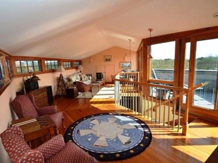 Chilmark Martha's Vineyard vacation rental - Soak in the views upstairs with floor to ceiling windows.