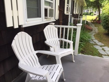 Vineyard Haven Martha's Vineyard vacation rental - Your back deck seating awaits