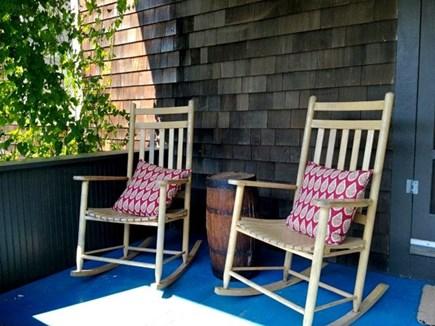 Oak Bluffs Martha's Vineyard vacation rental - Rockers on the front Porch.