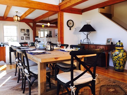 Vineyard Haven Martha's Vineyard vacation rental - The sun-drenched dining area, with three-story ceilings. . .